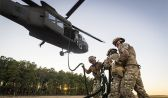 Airforce-ARNG Joint Fast-Rope Training